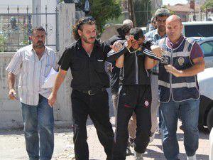 Konyada 6 otomobil çalan hırsız yakalandı