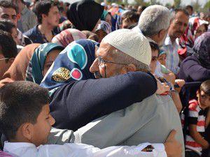 Hacı adayları gözyaşlarıyla uğurlandı