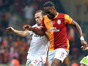 Galatasaray yine tökezledi: 1-1