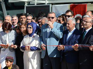 Erdoğan Adıyaman Havalimanını hizmete açtı