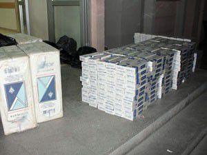 Veresiye defteriyle kaçak sigara ticareti