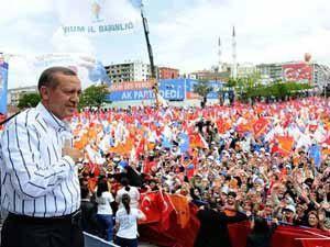 """AK Partide """"seçim"""" toplantısı"""