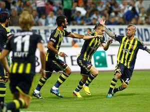 Fenerbahçe 3 puanı aldı