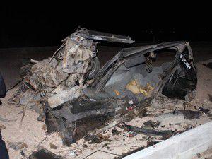 Konyada feci kaza 1 ölü 5 yaralı