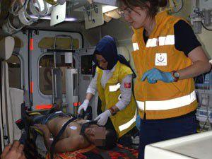 Konyada iki grup birbirine girdi 7 yaralı