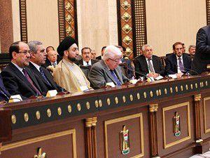 Irakta siyasi çözüm için imzalar atıldı
