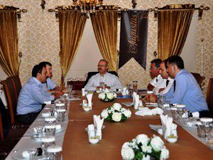 AK Partide başkanlar toplandı