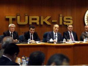 Türk-İş Başkanlar Kurulu toplandı