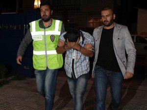 40 binliralık soygun yaptı vedalaşırken yakalandı