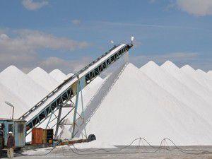 Tuz Gölünde tuz hasadı başladı