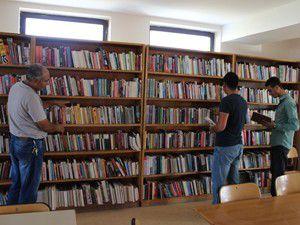 Karapınar Halk Kütüphanesi yeni yerine taşındı