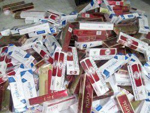 Kuluda 60 bin paket kaçak sigara ele geçirildi