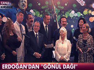 Başbakan Erdoğan Gönül Dağını söyledi