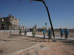 Karatayda Muhsin Yazıcıoğlu Parkının temeli atıldı