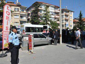 Akşehirde cinayet zanlısına tatbikat yaptırıldı.