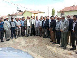 Milletvekili Yerlikayadan köy ziyaretleri