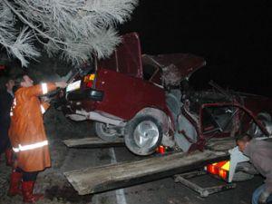 Alkollü sürücü aracı uçurdu!