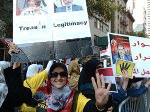 Mısırlılardan New Yorkta gösteri