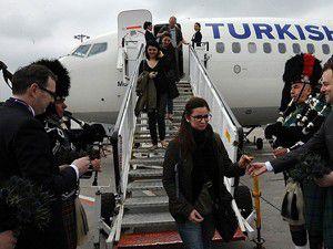 Uçak ve yolcu trafiği Eylülde de arttı