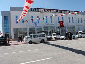 İstiklal Sosyal Tesisler ve Sağlık Merkezi açıldı