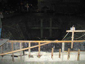Konyada inşaatta çökme 4 yaralı