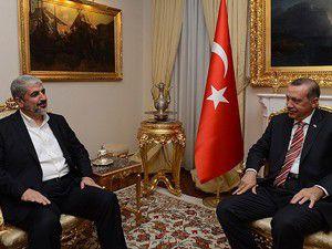 Erdoğan, Halid Meşal ile görüştü
