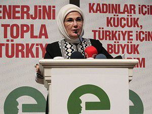 Emine Erdoğandan Bayanlara Tavsiye