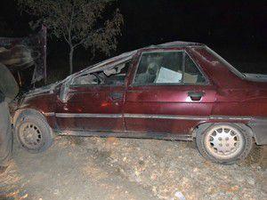 Konyada otomobil takla attı 2si çocuk 4 yaralı