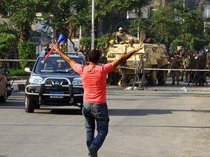 Mısırda darbe karşıtlarına yönelik 45 gözaltı