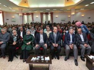 Dışişleri Bakanı Davutoğlu, Konyada