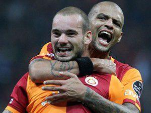 Galatasaray evinde zorlandı 2-1