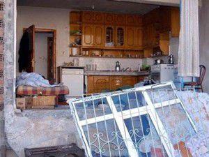 Gelin alma sırasında balkon çöktü