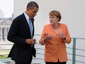 Obama Merkele garanti verdi