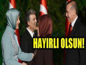 Erdoğan ailesinden tarihi ziyaret