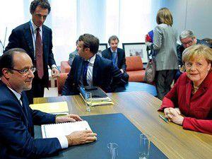 AB liderlerinden Merkele destek