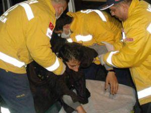 Kaza yapınca suçu arakadaşına attı