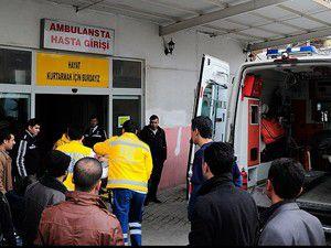 Kütahyada tırla minibüs çarpıştı: 16 yaralı