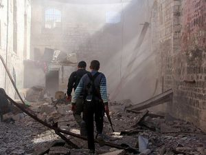 Şamın banliyösüne saldırı: 16 ölü