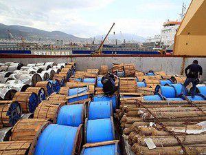 Suriyeye malzeme taşıyan gemiye operasyon