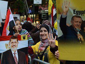 ABDde Mursiye destek gösterisi