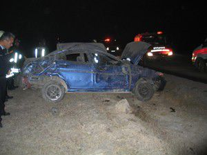 Konyada trafik kazası: 1 yaralı