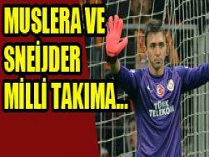 Muslera ve Sneijder için flaş karar!
