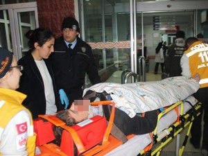 Konyada trafik kazaları: 4 yaralı