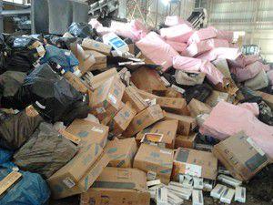 6 milyon TLlik kaçaklar imha edildi!