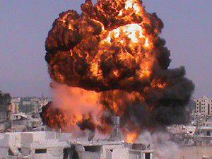 Şamın merkezinde patlama