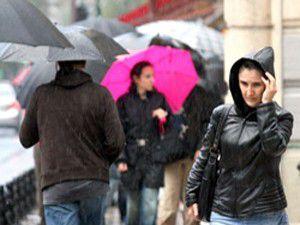 Hava sıcaklığı yağışla birlikte azalacak