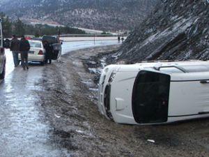 Konyada kaza; 3 yaralı