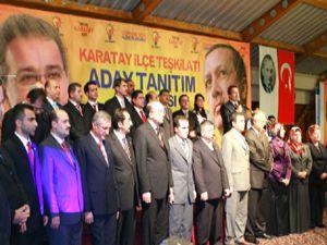 İşte Ak Partinin Karatay adayları