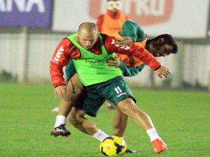 Torku Konyaspor eksik çalıştı