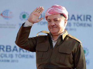 Barzaniden Türkçe barış mesajı